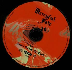 Mercyful Fate Don't Break The Oath Japan 2008 press disc