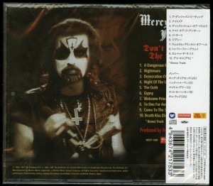 Mercyful Fate Don't Break The Oath Japan 2015 press back