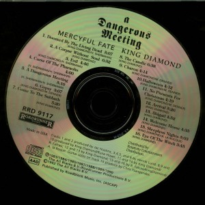 Mercyful Fate - King Diamond  A Dangerous Meeting disc