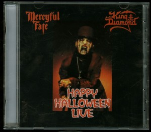 Mercyful Fate - King Diamond Happy Halloween Live CD