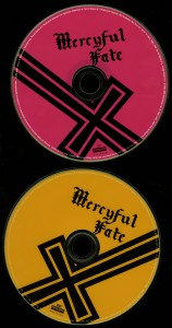Mercyful Fate Melissa 2005 CD + DVD discs