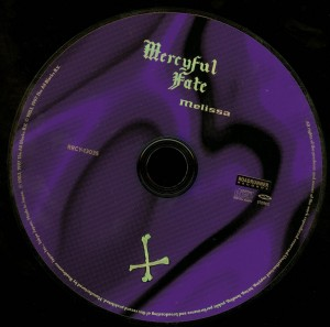 Mercyful Fate Melissa Japan 2008 press disc