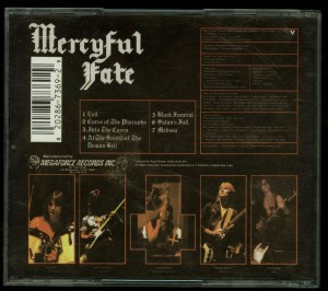 Mercyful Fate Melissa Megaforce back
