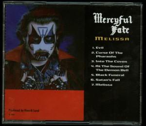 Mercyful Fate Melissa Russian press back