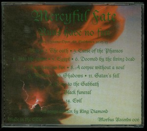 Mercyful Fate Nuns Have No Fun CD back