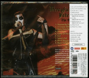 Mercyful Fate The Beginning Japan 2015 Press back