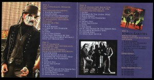 Mercyful Fate Travelling In Darkness Vol. 3 inlay