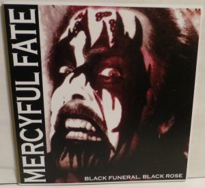 Mercyful Fate Black Funeral Black Rose Numbered