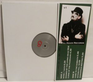 Mercyful Fate Black Funeral Black Rose Numbered back