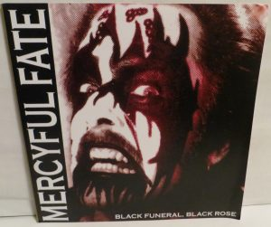 Mercyful Fate Black Funeral Black Rose Unumbered