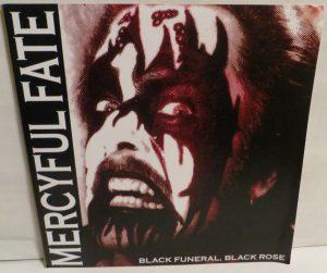 Mercyful Fate Black Funeral Black Rose Unumbered