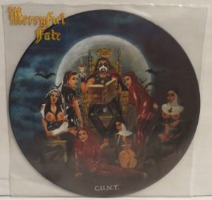 Mercyful Fate C.u.n.t. Picture Disc Promo