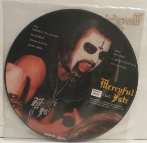 Mercyful Fate C.u.n.t. Picture Disc Promo back