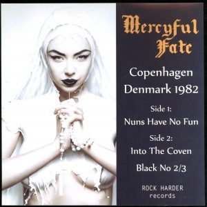 Mercyful Fate Copenhagen Denmark 1982 Black