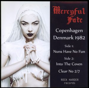 Mercyful Fate Copenhagen Denmark 1982 clear