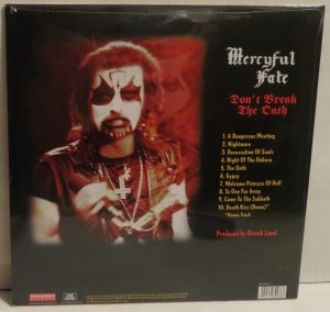 Mercyful Fate Don't Break the Oath 2007 Cargo press  back