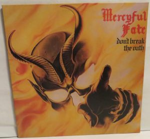Mercyful Fate Don't Break the Oath 2013 press Green vinyl