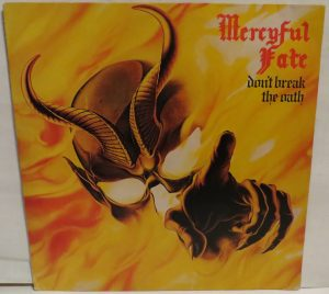 Mercyful Fate Don't Break the Oath Brazil Black Grey Label