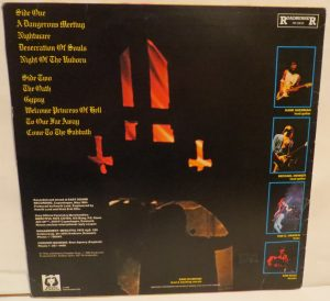 Mercyful Fate Don't Break the Oath Brazil Black Grey Label back