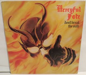 Mercyful Fate Don't Break the Oath Combat Camo label