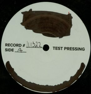 Mercyful Fate First American Sabbath Test Pressing a side