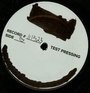 Mercyful Fate First American Sabbath Test Pressing b side