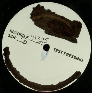 Mercyful Fate First American Sabbath Test Pressing d side