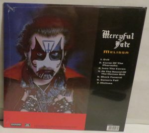Mercyful Fate Melissa 2007 Cargo Reissue back