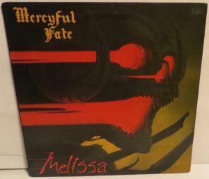 Mercyful Fate Melissa Megaforce Black Label