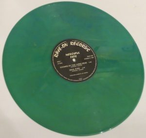 Mercyful Fate Mini LP 2001 Bootleg Bright Green side b