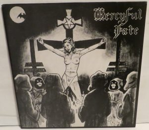 Mercyful Fate Mini LP 2001 Bootleg Green Brown Red Marble
