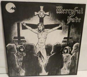 Mercyful Fate Mini LP 2001 Bootleg Light Blue + Green Marbled Copy 2