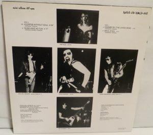 Mercyful Fate Mini LP 2001 Bootleg Light Blue + Green Marbled Copy 2 back