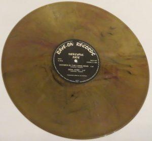 Mercyful Fate Mini LP 2001 Bootleg Olive Green + Red side b