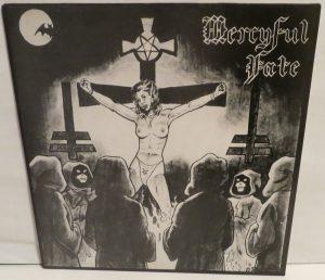 Mercyful Fate Mini LP 2001 Bootleg Red + Blue lp