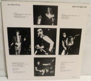 Mercyful Fate Mini LP 2001 Green and Yellow back