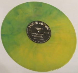 Mercyful Fate Mini LP 2001 Green and Yellow side b