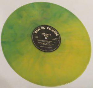 Mercyful Fate Mini LP 2001 Green and Yellow side b