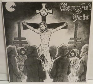 Mercyful Fate Mini LP 2002 press white border