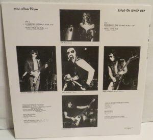Mercyful Fate Mini LP 2002 press white border back