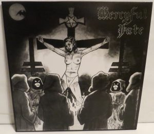 Mercyful Fate Mini LP 2011 Bootleg Black Vinyl