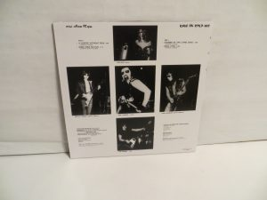 Mercyful Fate Mini LP 2011 Bootleg Clear Vinyl back