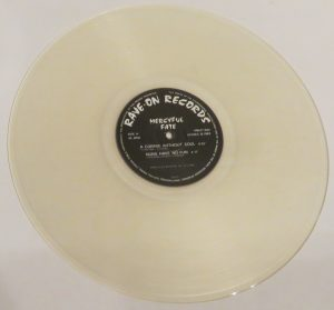Mercyful Fate Mini LP 2011 Bootleg Clear Vinyl side b