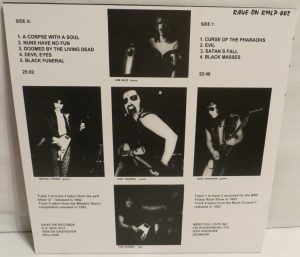 Mercyful Fate Mini LP 2014 press bonus tracks black back
