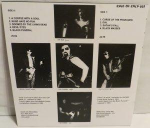 Mercyful Fate Mini LP 2014 press bonus tracks black back