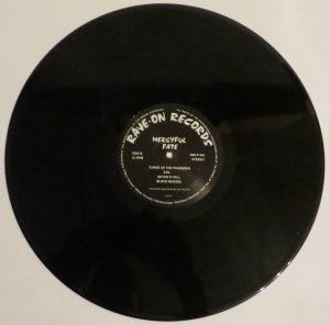Mercyful Fate Mini LP 2014 press bonus tracks black side b