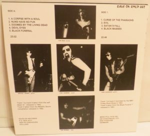 Mercyful Fate Mini LP 2014 press bonus tracks red back