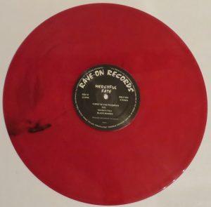 Mercyful Fate Mini LP 2014 press bonus tracks red side b