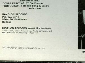 Mercyful Fate Mini LP Third Press corner
