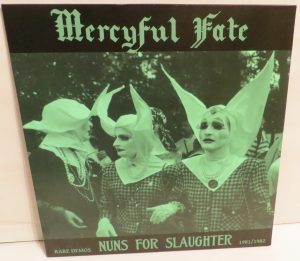 Mercyful Fate Nuns For Slaughter Test Pressing
